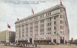 The Hudson's Bay Company Store and Power Building, Winnipeg, Manitoba