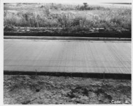 Pavement construction Project F, Pembina Highway (between Corydon Avenue and Grant Avenue), August 15, 1963
