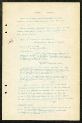 St. Boniface Council Minutes - May 30, 1919