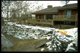 1997 flood - Avenue Lord - receded water at house