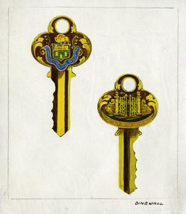 Design for ceremonial keys