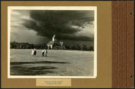 Storm clouds over Assiniboine Park