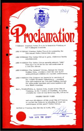Proclamation - Shrine Circus Week