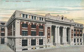 New C.P.R. Depot, Winnipeg