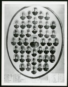 1884 Police Force collage