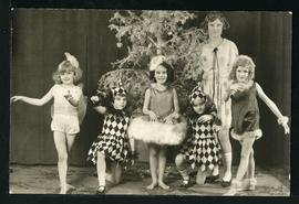 Young dancers in costume performing at the first Eaton's Tea Party