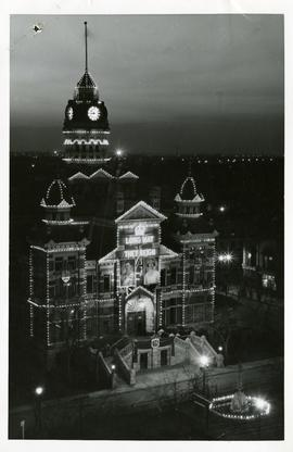 City Hall decorated for coronation
