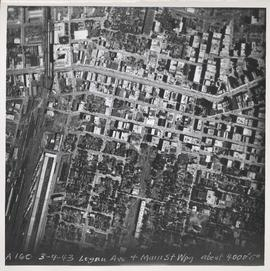 Logan Avenue and Main Street [Aerial view]