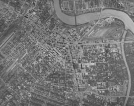 Central Business District: Aerial view - Central Winnipeg