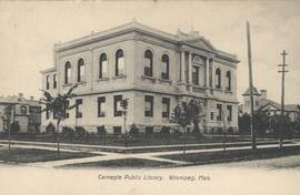 View of Carnegie Library, 380 William Avenue