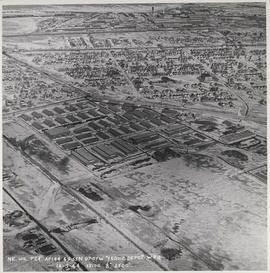 Aerial view of RCAF Equipment Depot Number 2