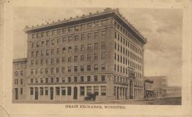 Grain Exchange building, 167 Lombard Avenue, Northeast corner of Rorie Street, ca. 1908