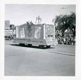 Winnipeg's 75th Anniversary parade - Trades and Labor Congress of Canada and American Federation ...