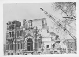 Demolition of Winnipeg City Hall, No more clock tower