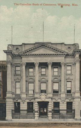 The Canadian Bank of Commerce building, 389 Main Street, ca. 1905