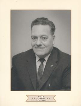 Mayor J. F. A. Partridge, B.A., City of West Kildonan