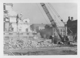 Demolition of Winnipeg City Hall, Wrecking Ball