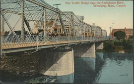The Traffic Bridge over the Assiniboine River, Winnipeg