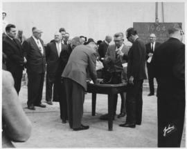 No. 4 - Laying of the cornerstone at new City Hall, May 15, 1964 (shows interview taking place)