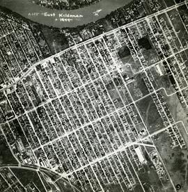 Aerial view of East Kildonan