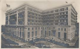 """The Royal Alexandra,"" Canadian Pacific Railway's Hotel, Winnipeg, Manitoba"