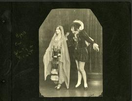 "Gertrude Ryall and Gwen Cox performing ""Beauty and the Beast"""