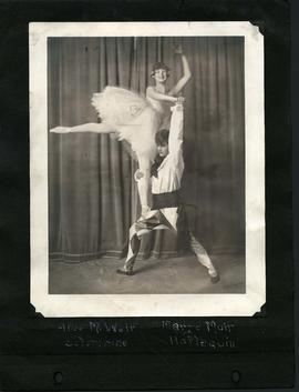 Alice Weir and Marge Muir in costume
