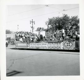 Winnipeg's 75th Anniversary parade - Association of United Ukranian Canadians and Workers' Benevo...