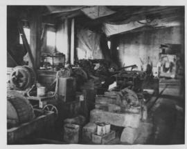 Interior room filled with machinery