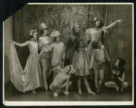 Grace Parker and other dancers in costume