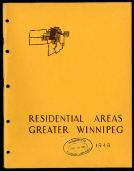 Preliminary Report on Residential Areas - Metropolitan Plan for Greater Winnipeg