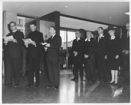 Official Opening of City Hall, October 5, 1964