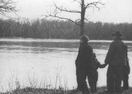 Wildwood Park - flood, 1950