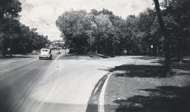 Thoroughfares: Academy Road at Wellington Crescent